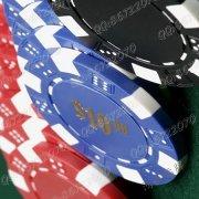 赌具筹码紫外线防伪不干胶标贴