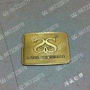 双SS家具电镀铜标牌