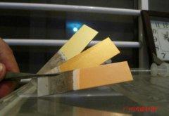 金色的诱惑之铝牌金色加工效果