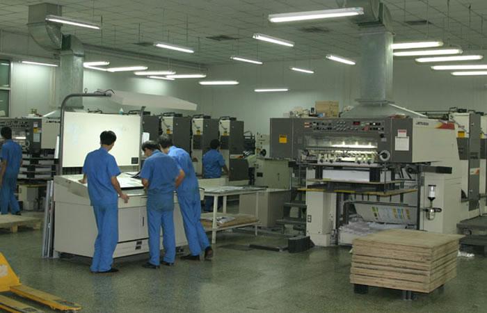 鸿盛标牌印刷设备操作团队